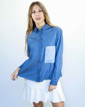 camisa denim wawtheshop